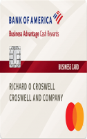 bank of america business advantage cash rewards